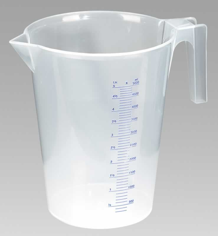 Measuring Jug Translucent 5.0ltr    (6-20)