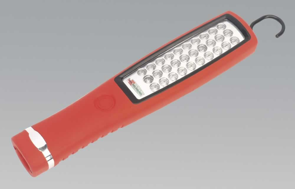 Cordless 30 LED Rechargeable Inspection Lamp Lithium-ion