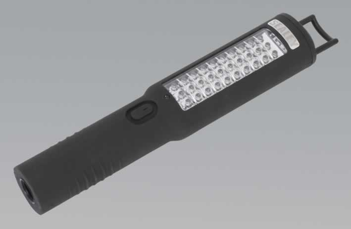 Cordless 30+5 LED Rechargeable Inspection Lamp Lithium-ion
