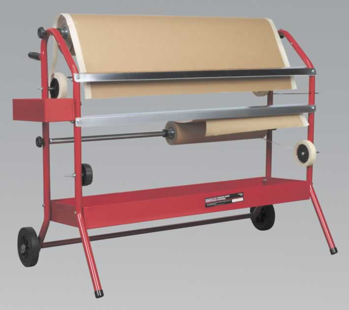 Masking Paper Dispenser 2 x 900mm Trolley