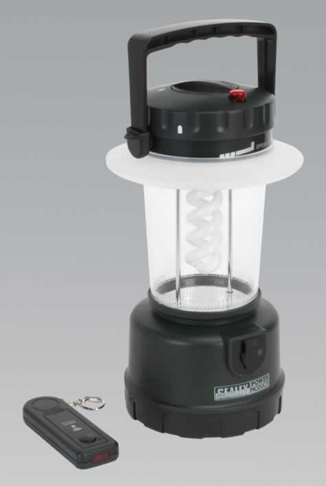 Twin Fluorescent Rechargeable Lantern 12W with Remote Control