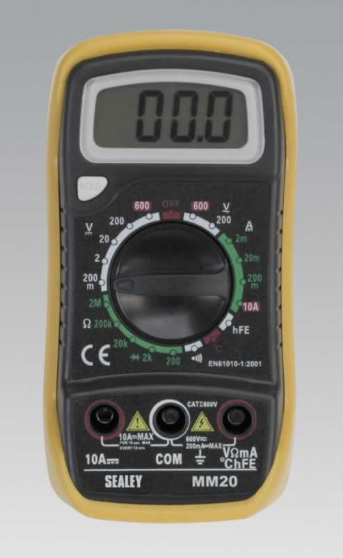 Digital Multimeter 20 Function with Thermocouple