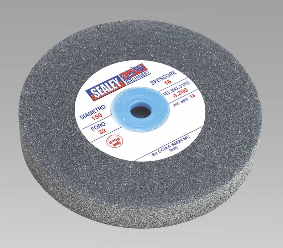 Grinding Stone Ø150 x 16mm 12.7mm Bore A60P Fine