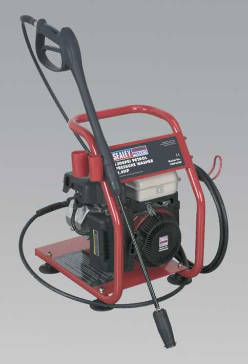 Petrol Pressure Washer 1300psi 7ltr/min 2.4hp