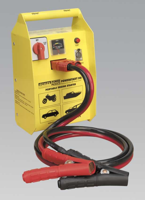 PowerStart Emergency Power Pack 200hp Start 12V