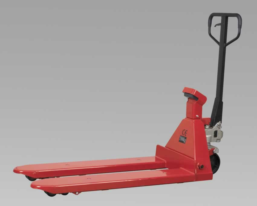 Pallet Truck 2000kg 1150 x 570mm with Scales