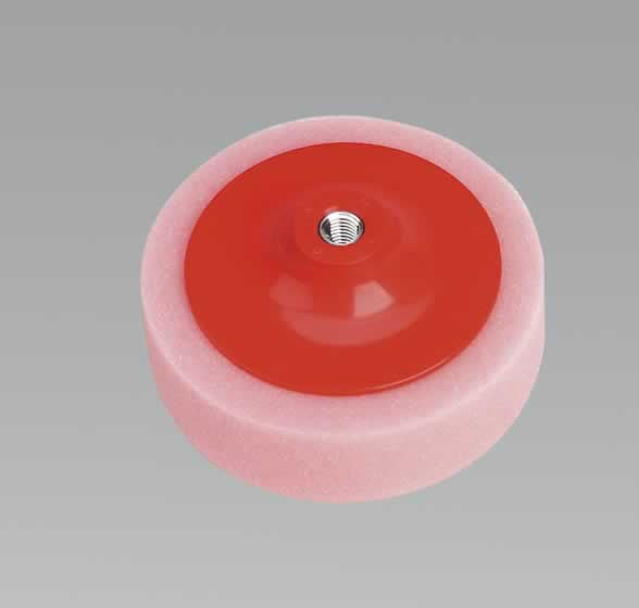 "Buffing & Polishing Foam Head 150 x 50mm 5/8"" UNC Pink/Soft"
