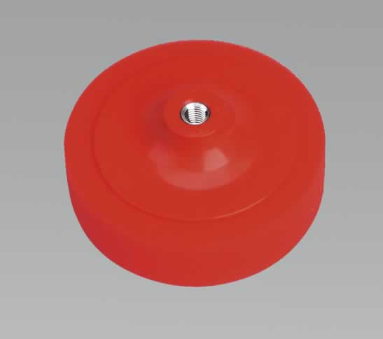 Buffing & Polishing Foam Head 150 x 50mm M14 Red/Ultra Soft