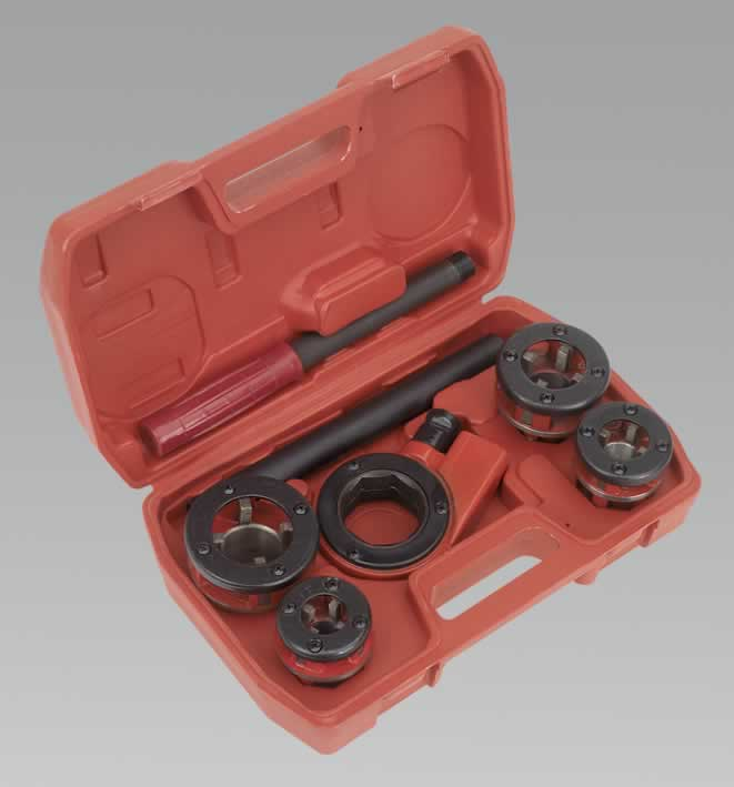 "Pipe Threading Kit 1/2"" - 1-1/4""BSPT"