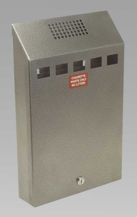 Cigarette Bin Wall Mounting Heavy-Duty