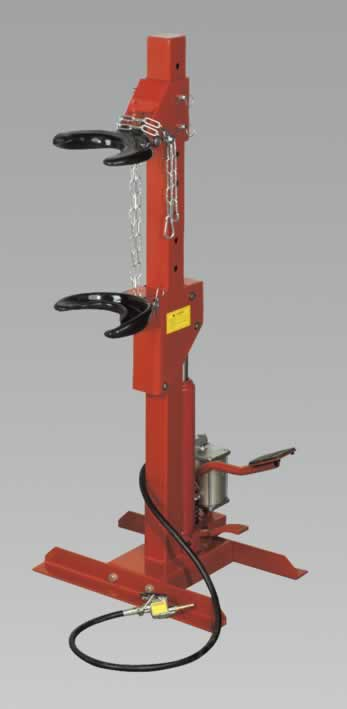 Coil Spring Compressing Station Air/Hydraulic