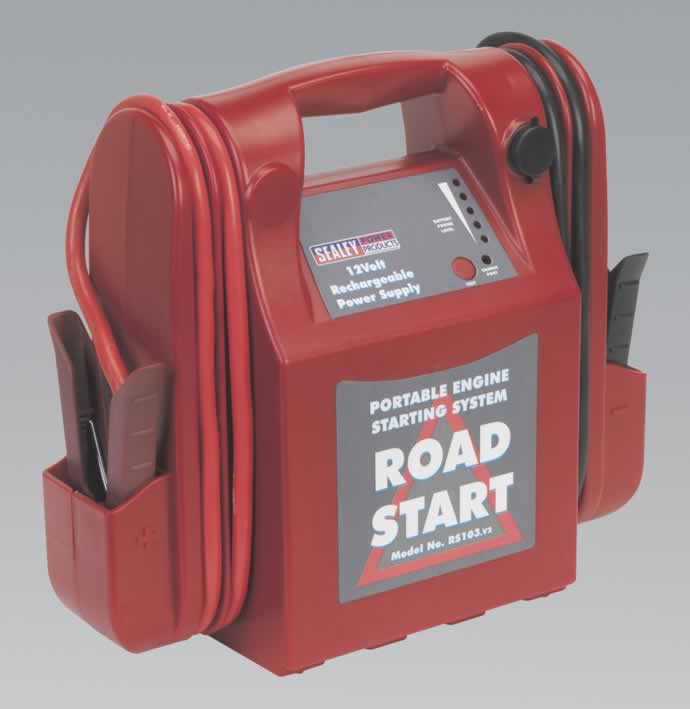 RoadStart Emergency Power Pack 12V 3200 Peak Amps