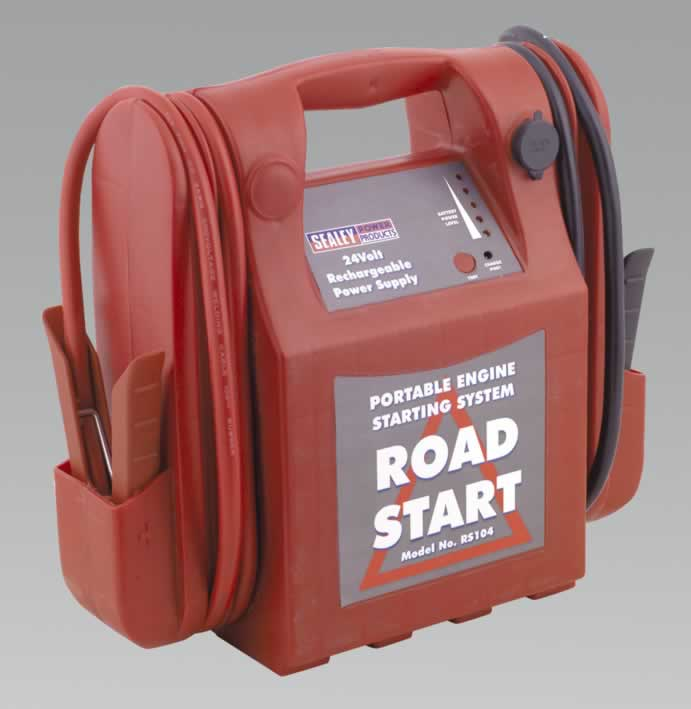 RoadStart Emergency Power Pack 24V 1600 Peak Amps