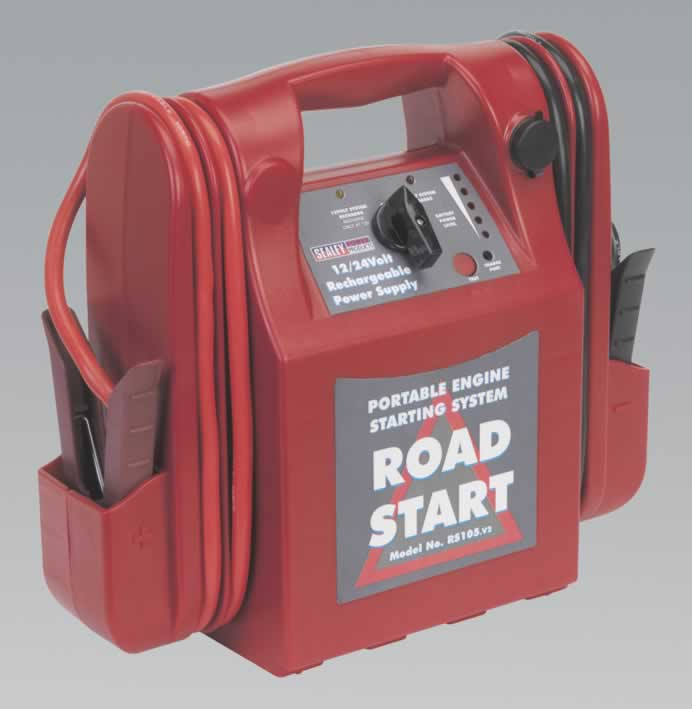 RoadStart Emergency Power Pack 12/24V 3200/1600 Peak Amps