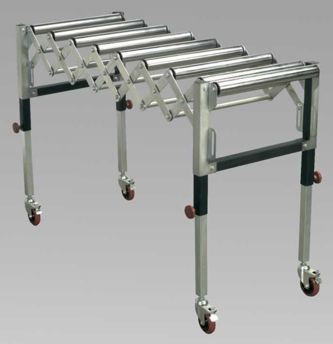 Adjustable Roller Stand 450 - 1300mm 130kg Capacity