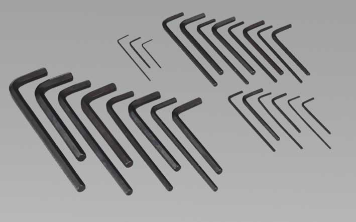 Hex Key Set 25pc