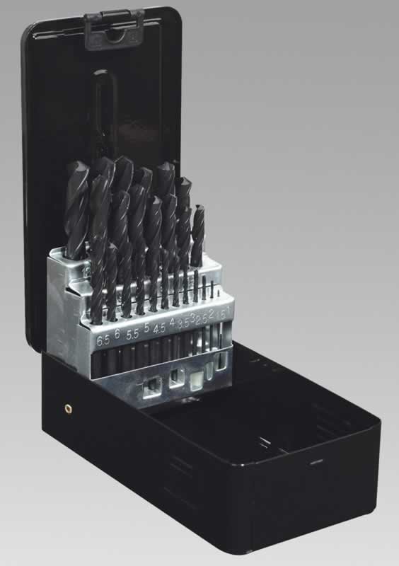 Drill Bit Set 25pc Metric HSS