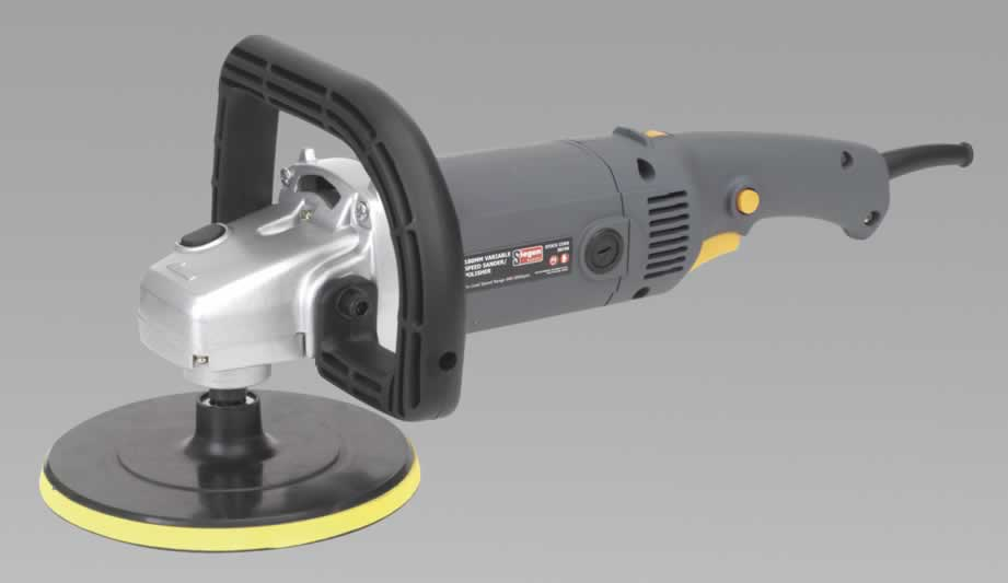 Sander/Polisher 180mm Variable Speed 1200W/230V