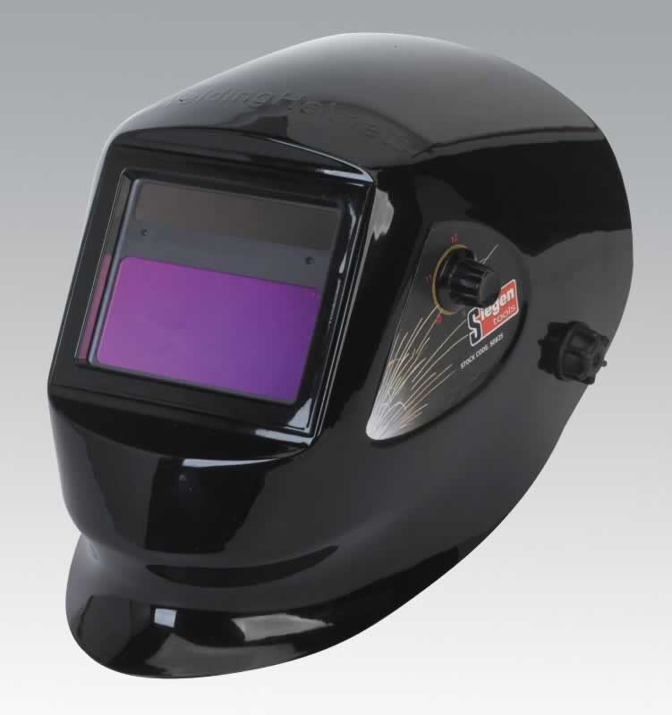 Welding Helmet Solar Powered Shade 9-13