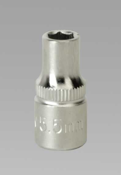 "WallDrive Socket 5.5mm 1/4""Sq Drive"
