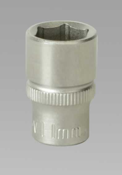 "WallDrive Socket 11mm 1/4""Sq Drive"