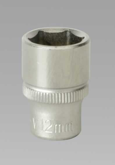 "WallDrive Socket 12mm 1/4""Sq Drive"