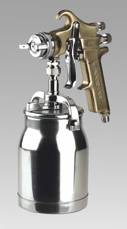 Spray Gun Professional GOLD Series Suction Feed 1.8mm Set-Up