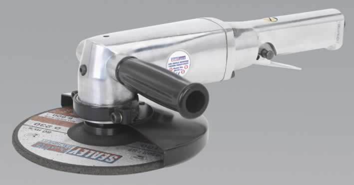 Air Angle Grinder 180mm Heavy-Duty