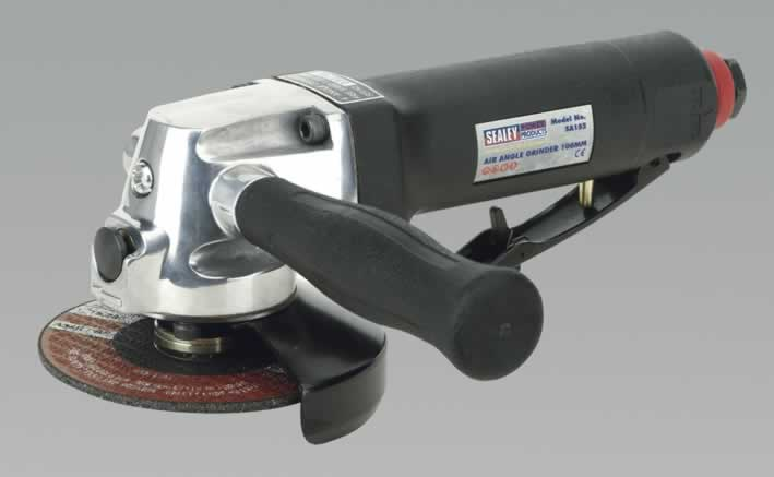 Air Angle Grinder 100mm Composite Housing