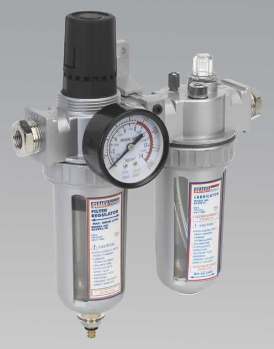 Air Filter/Regulator/Lubricator Heavy-Duty