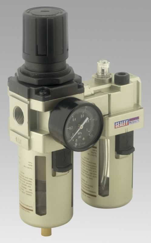 Air Filter/Regulator/Lubricator Max Airflow 105cfm  (AHA)