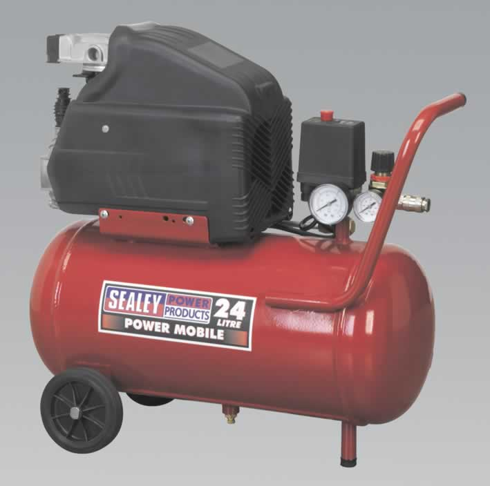 Compressor 24ltr Direct Drive 1.5hp