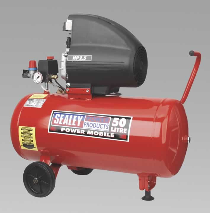 Compressor 50ltr Direct Drive 2.5hp