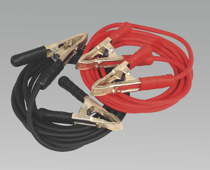 Booster Cables 5.0mtr 650Amp 25mm² Extra Heavy-Duty Clamps
