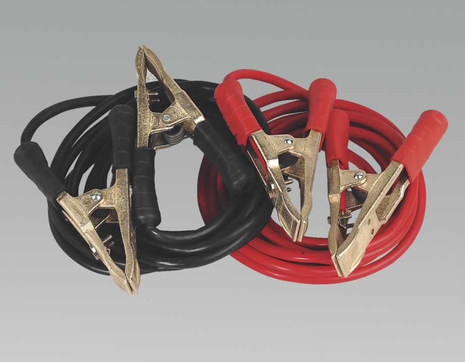 Booster Cables 5.0mtr 750Amp 35mm² Extra Heavy-Duty Clamps