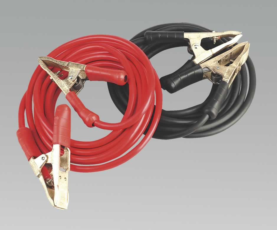 Booster Cables 6.5mtr 900Amp 50mm² Extra Heavy-Duty Clamps