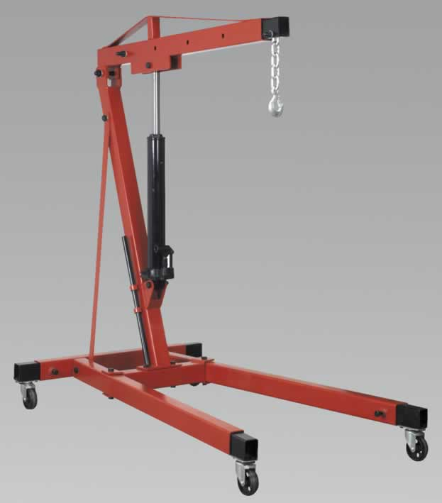 Folding Crane Yankee 1tonne Long Reach