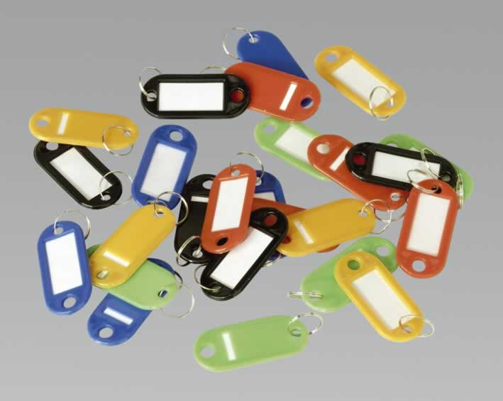 Key Tag Assortment 25pc