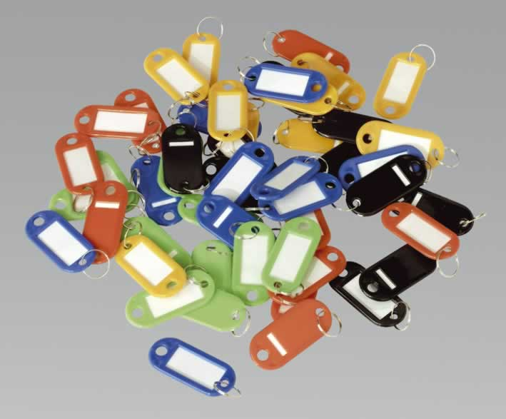 Key Tag Assortment 50pc
