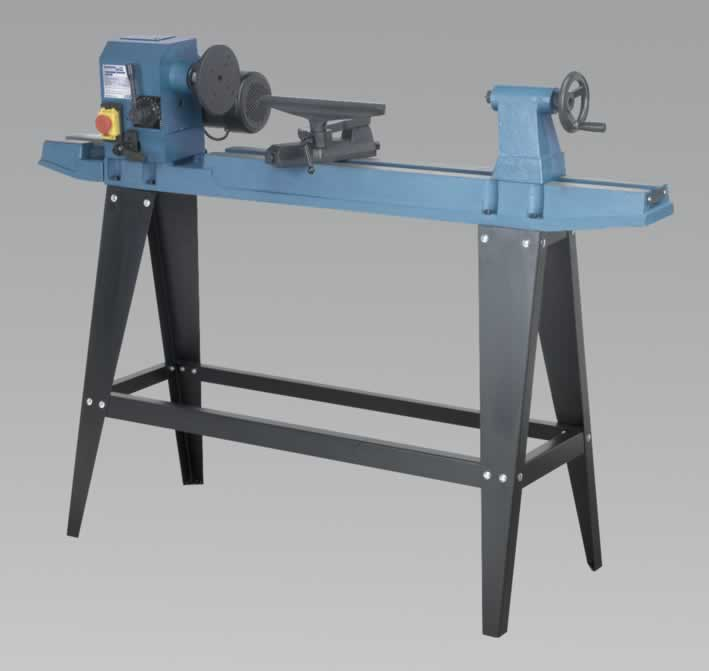 Wood Lathe 10-Speed 900mm Centres  (AH)