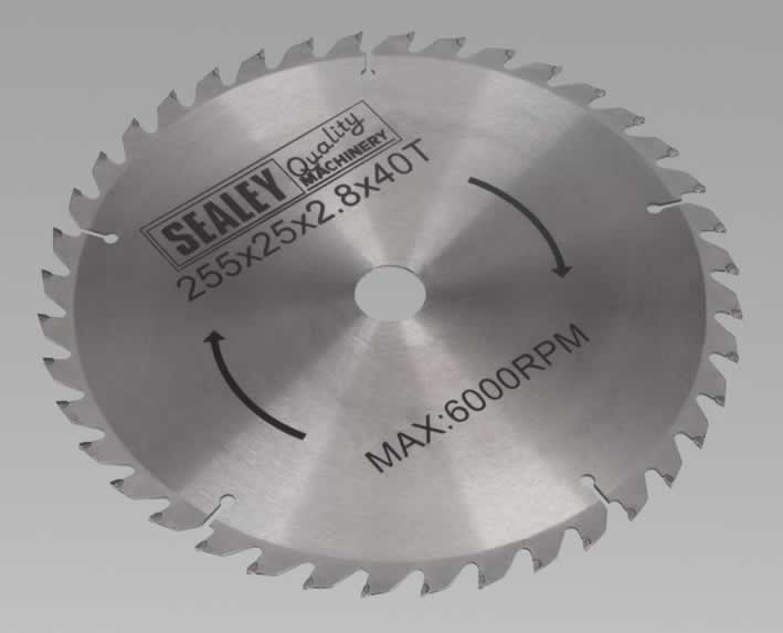Compound Mitre Saw Blade 254 x 25.4mm 40TPU