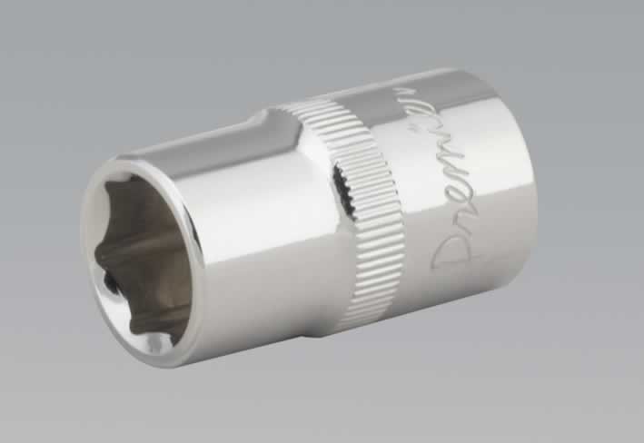 "WallDrive® Socket 13mm 1/2""Sq Drive Fully Polished"