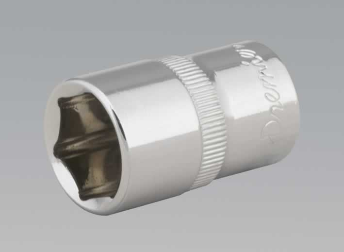 "WallDrive® Socket 17mm 1/2""Sq Drive Fully Polished"
