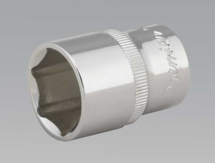 "WallDrive® Socket 21mm 1/2""Sq Drive Fully Polished"