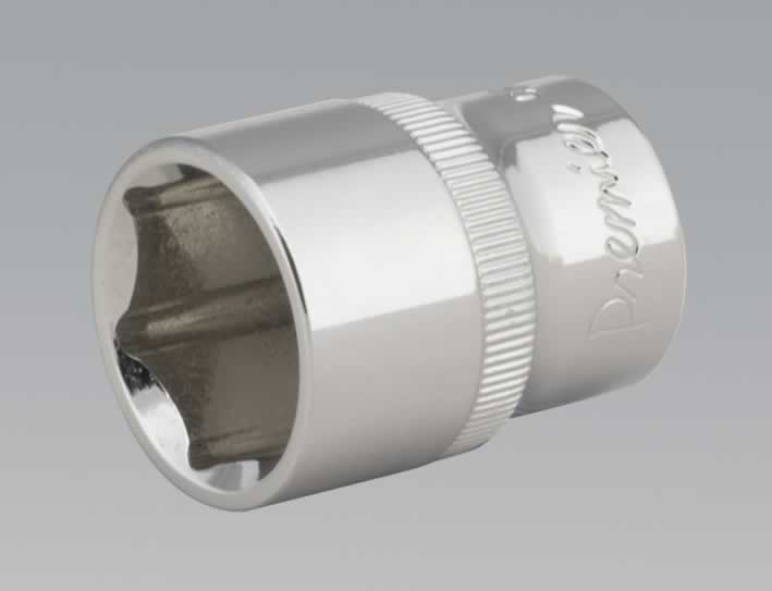 "WallDrive® Socket 22mm 1/2""Sq Drive Fully Polished"