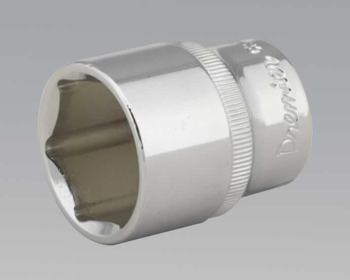 "WallDrive® Socket 26mm 1/2""Sq Drive Fully Polished"