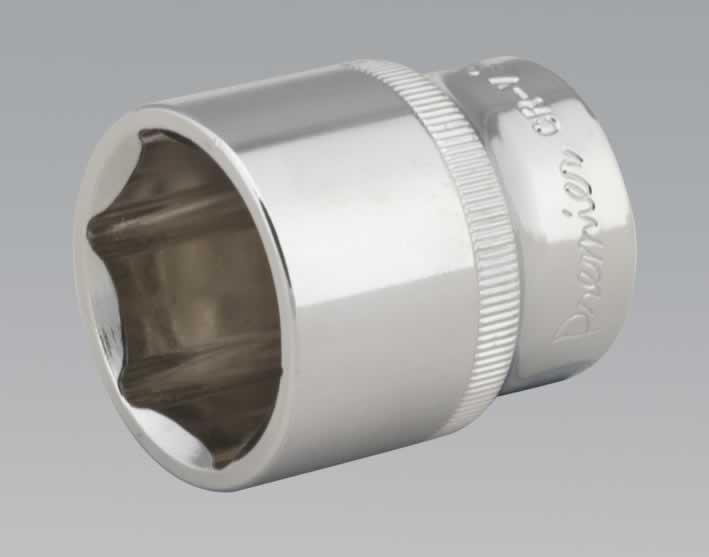 "WallDrive® Socket 28mm 1/2""Sq Drive Fully Polished"