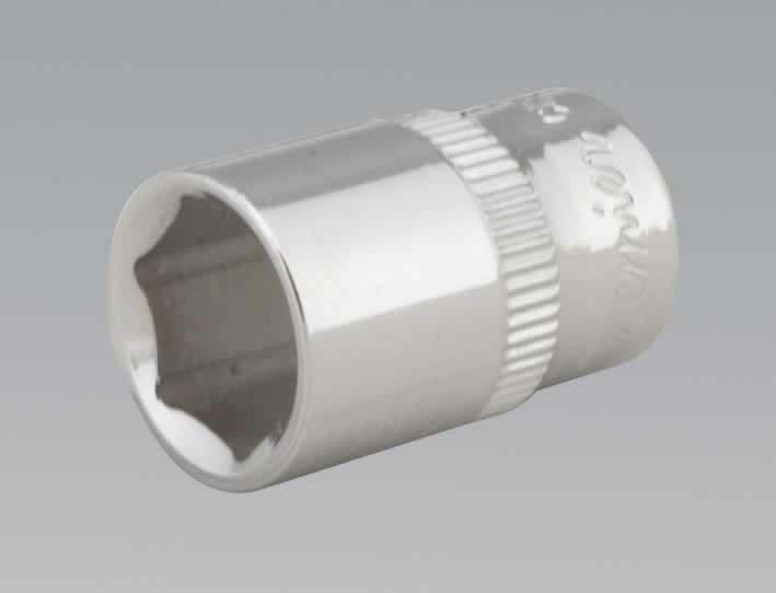"WallDrive® Socket 12mm 1/4""Sq Drive Fully Polished"