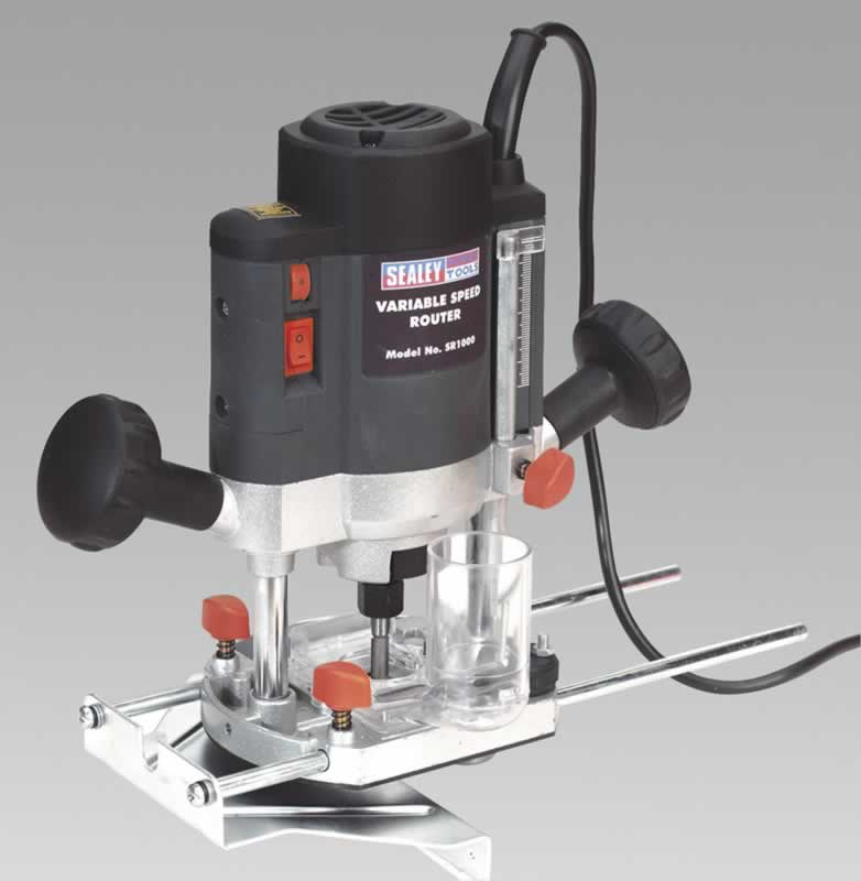 "1/4"" Router Variable Speed 1000W/230V"