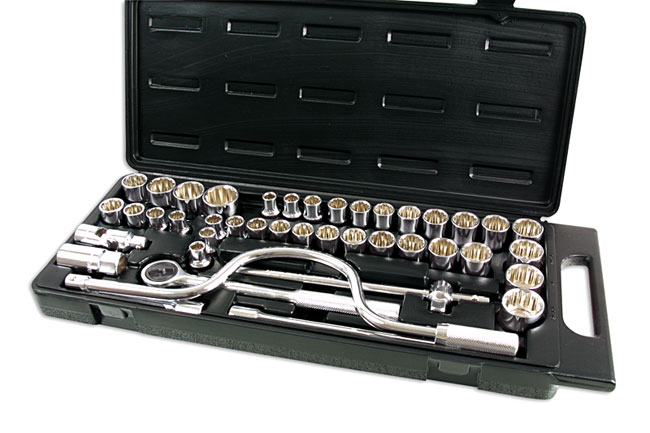 "Socket Set 1/2""D 42pc  (G)"